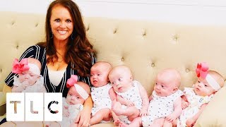 The Sextuplets Very First Outing | Sweet Home Sextuplets