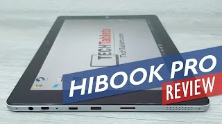 Chuwi HiBook Pro Review - 2560 x 1600, Dual OS 2-in-1 Tablet PC