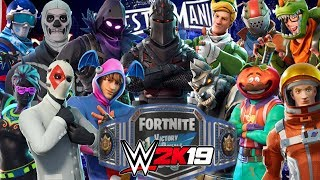 FORTNITE ROYAL RUMBLE | WWE 2K19 Gameplay