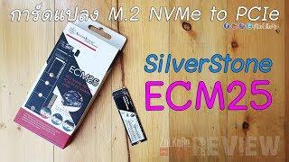 ลองเล่น SilverStone ECM25 การ์ดแปลง M.2 NVMe to PCIe ในแบบ Low Profile : ZoLKoRn on Live #270