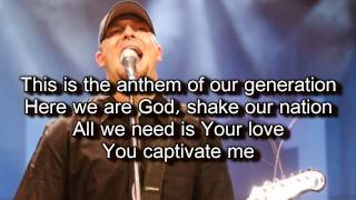 The Anthem - Jesus Culture / Jake Hamilton (Worship Song with Lyrics) Live From Chicago