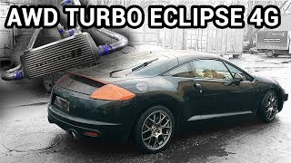HOW to make TURBO AWD Mitsubishi Eclipse 4G gsX 2.4 4G69 (Part 2/4. TURBO INTAKE )