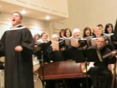 Ward Saxton soloist - Sanctus from Gospel Mass by Robert Ray