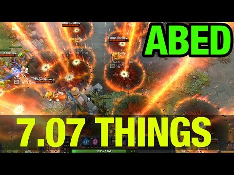 7.07 THINGS - ABED INVOKER CATACLYSM - Dota 2