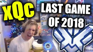 xQc GOES FOR TOP 500 FINISH (LAST GAME OF 2018)