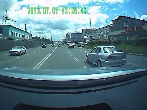 Авария на ул.Борсоева, 01.07.13г.