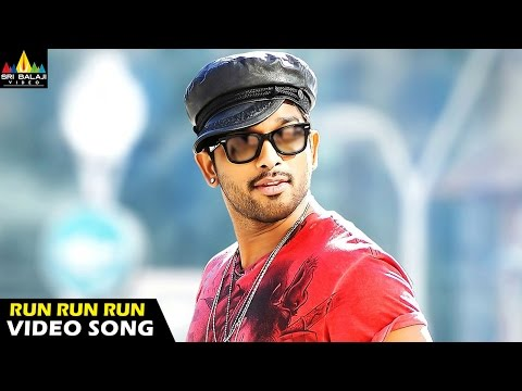 Run Run Video Song - Iddarammayilatho Movie (allu Arjun, Amala Paul, Catherine Tresa) - 1080p video