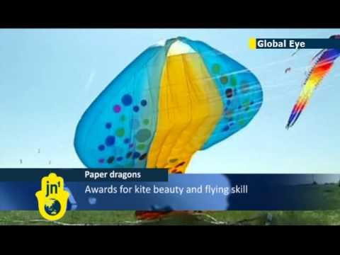 Global Eye: thousands of kite enthusiasts take part in annual Hebei Province kite contest in China