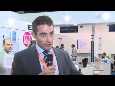 AEEDC 2013 - Interview with  Thomas Border, Product Manager Dental, E.M.S. Electro Medical Systems