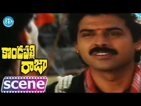 Kondapalli Raja Movie - Nagma, Venkatesh Fight Scene video