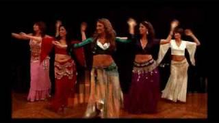 Yaël Zarca  - extrait du DVD apprendre la danse orientale / Collection Dansez