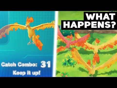 What Happens If You Catch Combo 31 Legendary Pokémon In Let's Go Pikachu / Eevee? (We Find A Shiny)