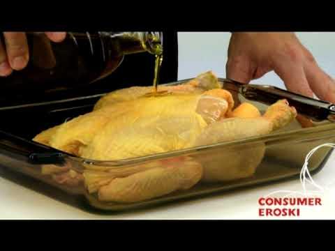 Técnicas básicas de cocina: Cómo preparar el pollo para asar