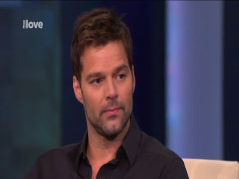 Oprah Winfrey with Ricky Martin part1