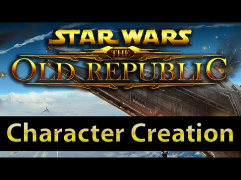  The Old Republic - Character Creation [Spoiler-free]