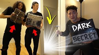 We BROKE INTO The BASEMENT Of My HAUNTED HOUSE And You Won't Believe What We Found!!