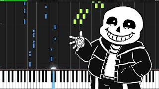 Megalovania - Undertale [Piano Tutorial] (Synthesia)