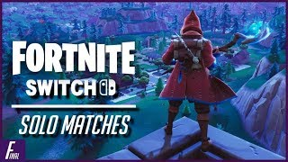 Dropping Off Late Night! | Fortnite Nintendo Switch
