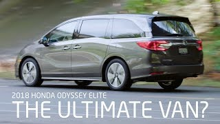 2018 Honda Odyssey Elite Reviewed (vs Toyota Sienna & Chrysler Pacifica)