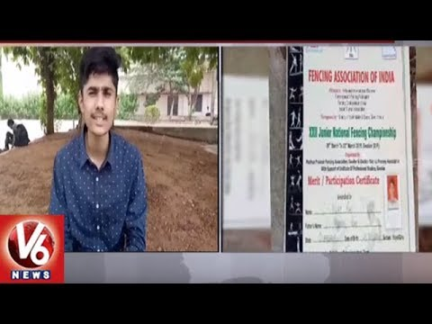 Irregularity In TS Sports Quota Medical Seats Allocation | Students Demands For Justice | V6 News