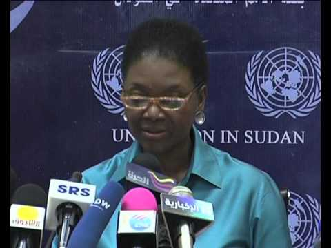 MaximsNewsNetwork: SUDAN: HUMANITARIAN RESPONSE: UN's VALERIE AMOS: DARFUR, SOUTHERN SUDAN (UNMIS)