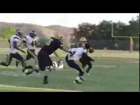2013 COC Football: Highlights of Game 2 at Saddleback College