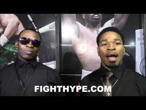 SHAWN PORTER SAYS IF HE WERE KEITH THURMAN, HE WOULDN'T HAVE POSTPONED FIGHT; UNFAZED BY DATE CHANGE