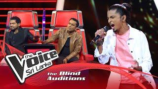 Sohan Francesco - Chakithaya Blind Auditions | The Voice Sri Lanka