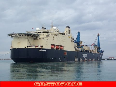 Saipem Castorone Pipe Laying Vessel