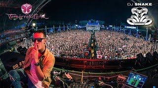 DJ Snake - You know you like it x Let me love you x Middle LIVE Tomorrowland 2017