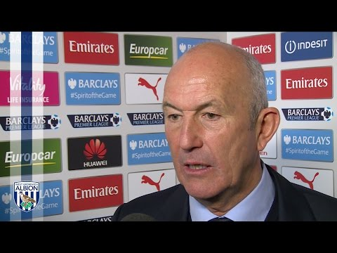 Tony Pulis speaks after Albion's 2-0 defeat at Arsenal in the Premier League