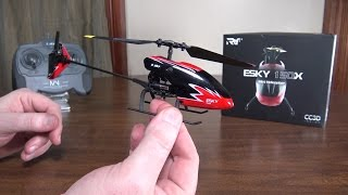Esky - 150X Mini Helicopter - Review and Flight