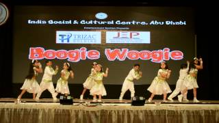 Prashil's Rocking performance in Boogie Woogie dance compitition at ISC Abu Dhabi Oct 2014
