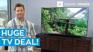 TCL 6 Series 75-inch 4K HDR TV | Unboxing and basic setup