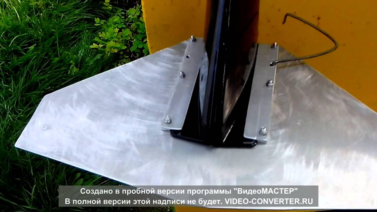 Гидрокрыло на лодочный мотор 5 л.с