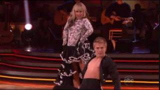 Derek Hough & Chelsie Hightower dancing the Paso Doble (DWTS) with Mark Ballas on guitar