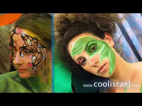 Body Painting en Tel Aviv - coolisrael.com