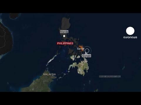 Alerta de tsunami en el Pacífico tras terremoto en Filipinas