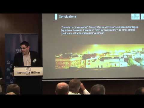 Property Council of Australia (WA division) breakfast 'revitalising Fremantle, the city responds'.