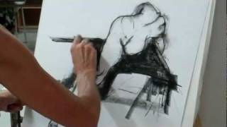 life drawing group in action