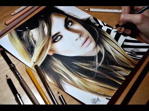 Drawing Cara Delevingne