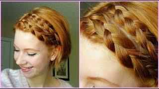 Double Dutch Braid Hair Tutorial! Short Hair ♥