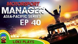 🚗🏁 Motorsport Manager PC - Lets Play EP40 - Loki Doki Don't Crash