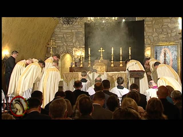 Opening Mass with Archbishop Charles J. Chaput, O.F.M. Cap. and Eucharistic Procession