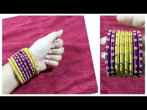 Bangles with Silk Thread collection | Latest Design SilkThread Bangles