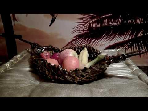 Basket Obstschale ( Teil 1 ) mit einfacher Flechttechnik aus Papierröllchen
