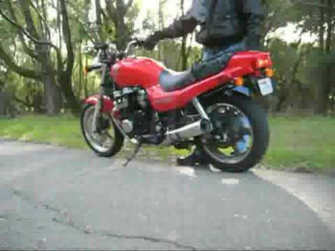 2003 HONDA CB 750 NIGHTHAWK Video