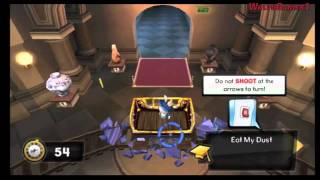 Rayman Raving Rabbids Travel in Time Wii Gameplay