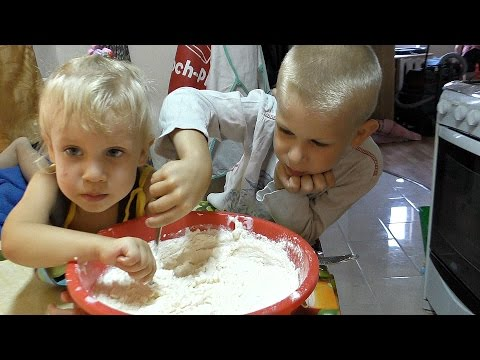 Пирожки на простокваше. Многодетная семья.