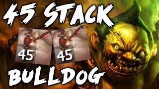 Pro Hook 45 Stack/ 36 Min Amazing Pudge by Bulldog 7.00 Gameplay Dota 2